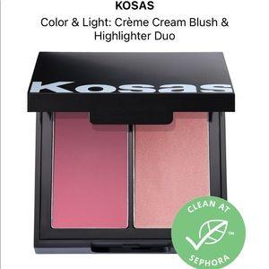 BNIB Kosas cream blush and highlight